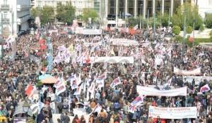 Συλλαλητήρια στο κέντρο της Αθήνας