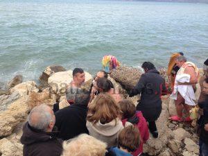 Ένταση επικράτησε στην Πάτρα για την διεκδίκηση του Σταυρού