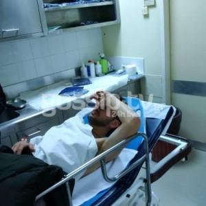 ο Πάνος Καλλίδης στο νοσοκομείο μετά από τροχαίο