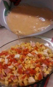Πατατούλες με αυγά στο φούρνο