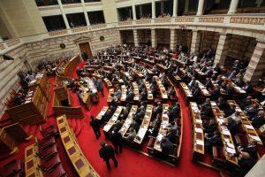 Η διαπραγμάτευση για την αξιολόγηση και η ΔΕΗ στο επίκεντρο στη Βουλή