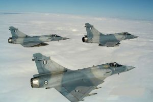 Αεροσκάφος Mirage 2000 κατέπεσε στις Σποράδες. Σώος ο πιλότος