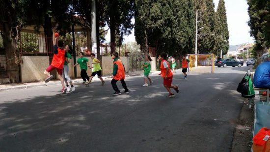 Πραγματοποίηση 3ου Street Handball Διονύσου στην πλατεία Άνοιξης