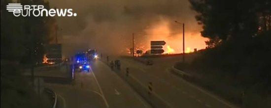 Τραγωδία στην Πορτογαλία - 62 οι νεκροί στην δασική πυρκαγιά