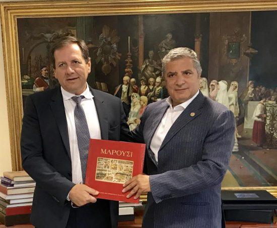 Επικυρώθηκε η συνεργασία του Δήμου Αμαρουσίου με τη ΚΑΕ ΑΕΚ για τον αθλητισμό και τη νεολαία