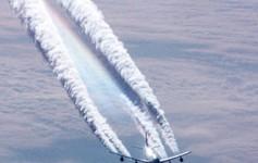 χημικοί αεροψεκασμοί - chemtrails
