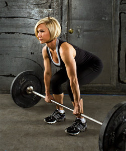 womans deadlifts