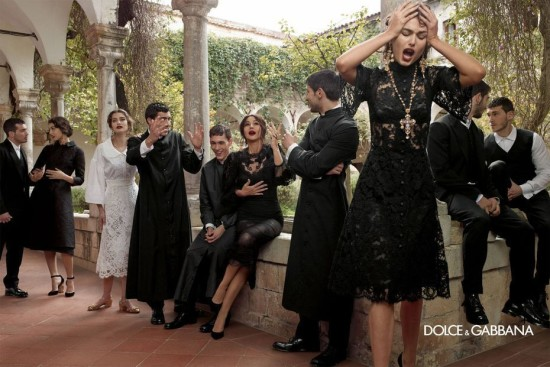 Dolce Gabbana Campaña Otoño Invierno 2013 2014  7