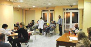 Με επιτυχία πραγματοποιήθηκε η 21η εθελοντική αιμοδοσία του Δήμου Διονύσου