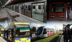 Στάσεις εργασίας από Τρίτη σε Μετρό, Ηλεκτρικό, Τραμ