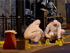 Eξουδετέρωση βόμβας στο υπουργείο Εργασίας