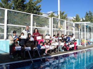 Με απόλυτη επιτυχία τα μαθήματα κολύμβησης στην Πολιτεία