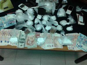 Σύλληψη τριών ατόμων για ναρκωτικά στο Ηράκλειο Κρήτης