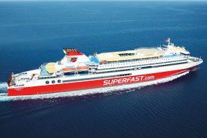 Προσέκρουσε στο λιμάνι της Πάτρας το «superfast 2»