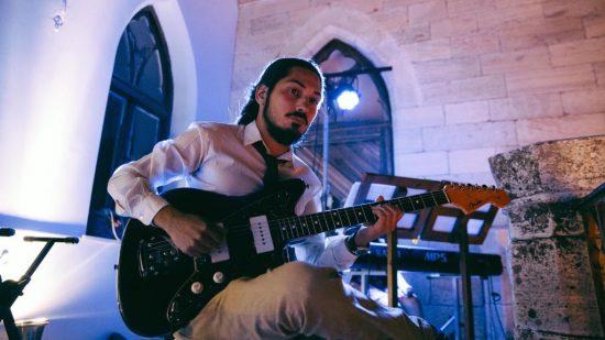 Ο Γιώργος Περού στο Cafe Bar «Ορφέας»