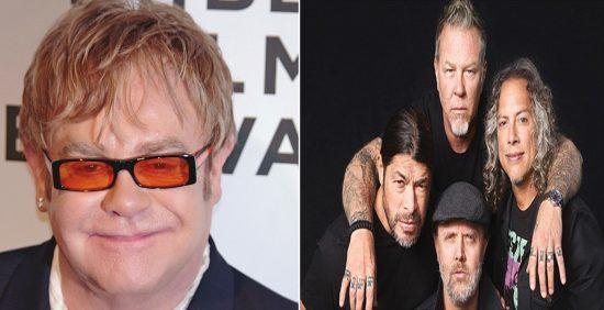 Συνεργασία Έλτον Τζον - Metallica